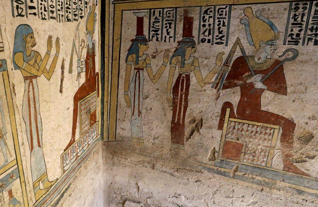 фрески египта