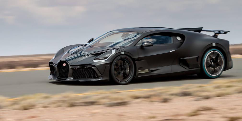 Bugatti испытывает Divo