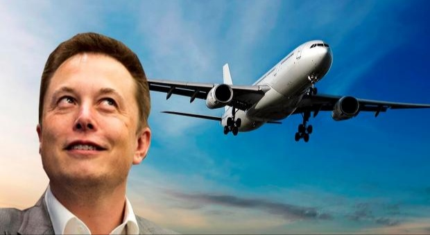 Полёты бизнес-джета Элона Маска