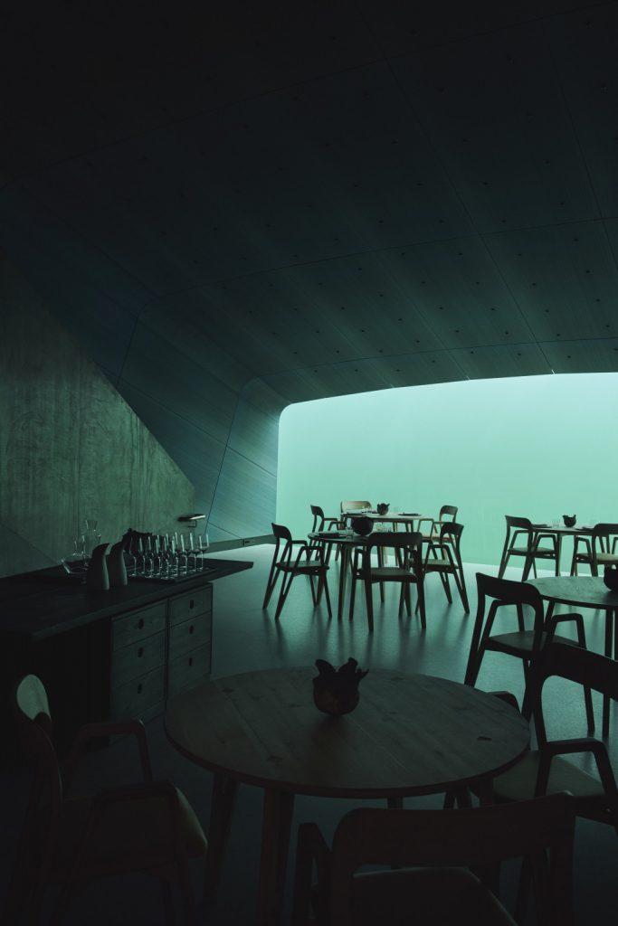 отдых в ресторане под водой