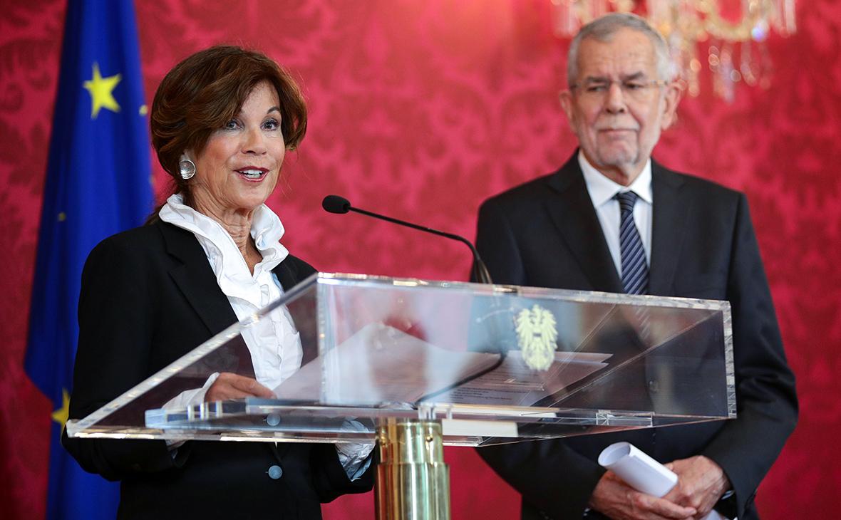женщина-канцлер Австрии