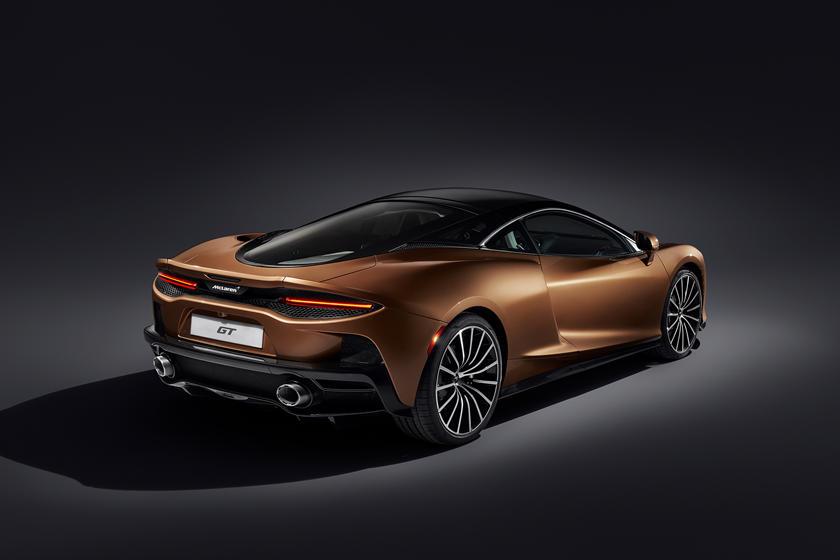 характеристики McLaren GT