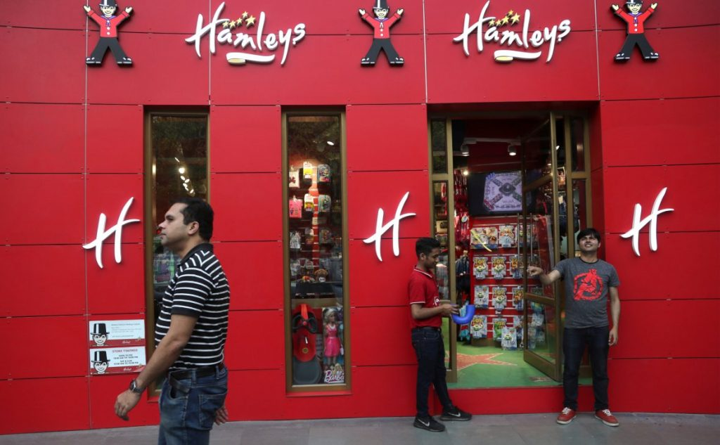 Сеть магазинов игрушек Hamleys