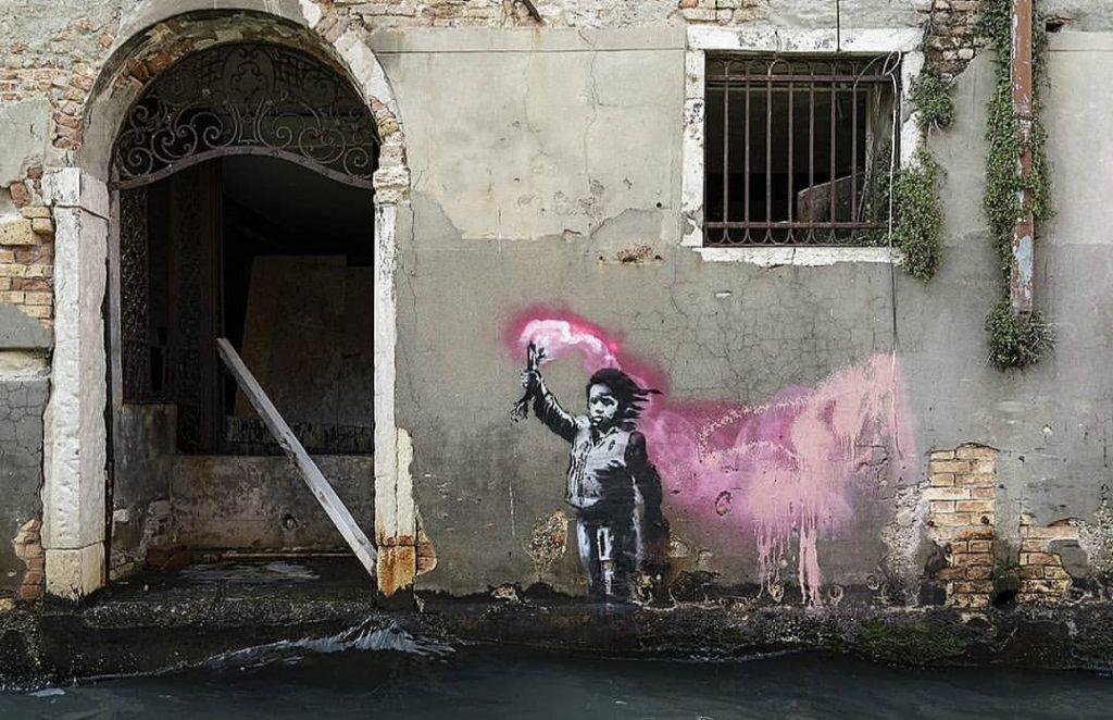 творение Banksy