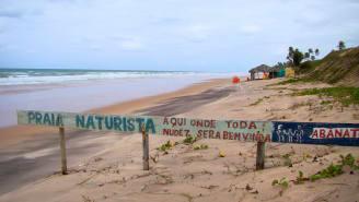 нудисты и пляж