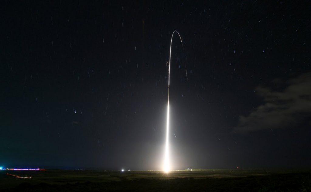 США испытали новую ракету