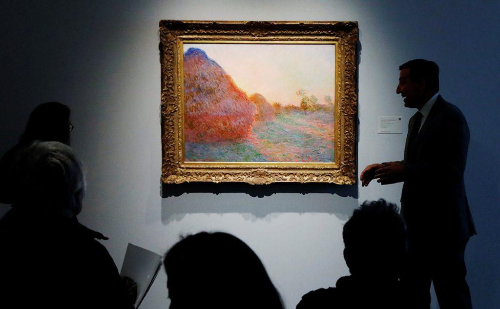 Картина импрессиониста Моне
