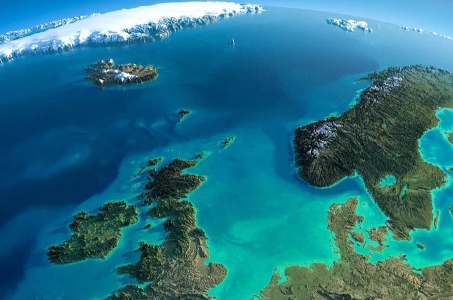 На дне Северного моря