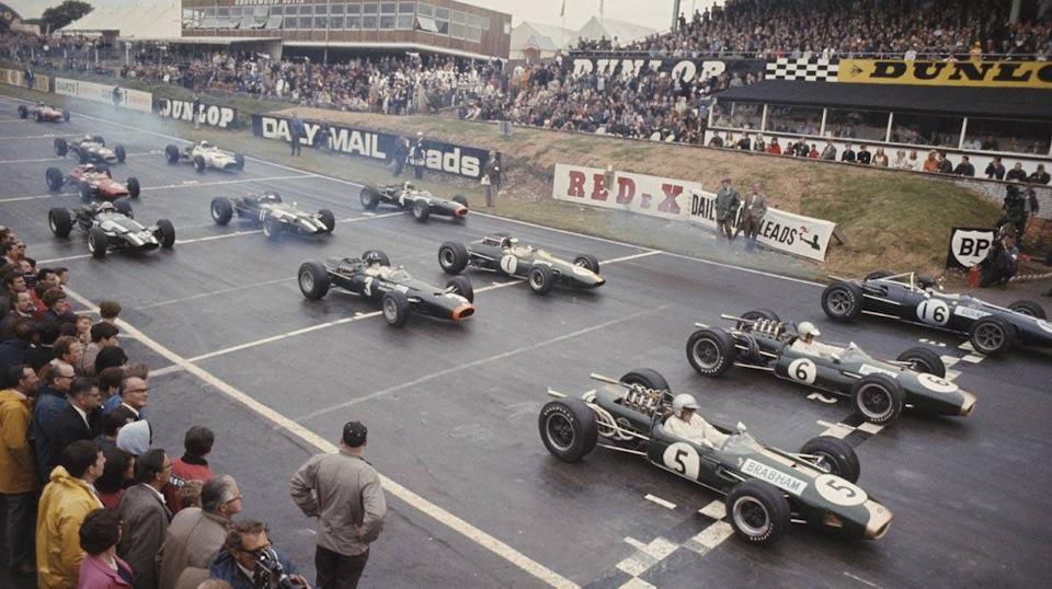 Гран При Великобритании '66.