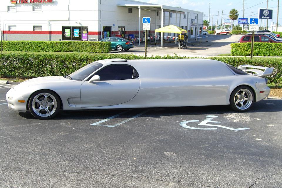 необычный лимузин