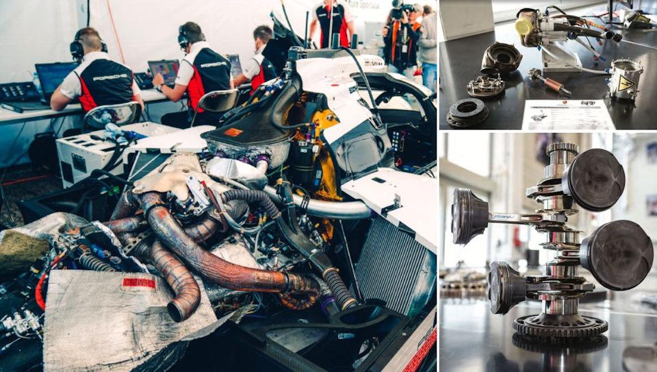 техника Porsche 919 Hybrid Evo