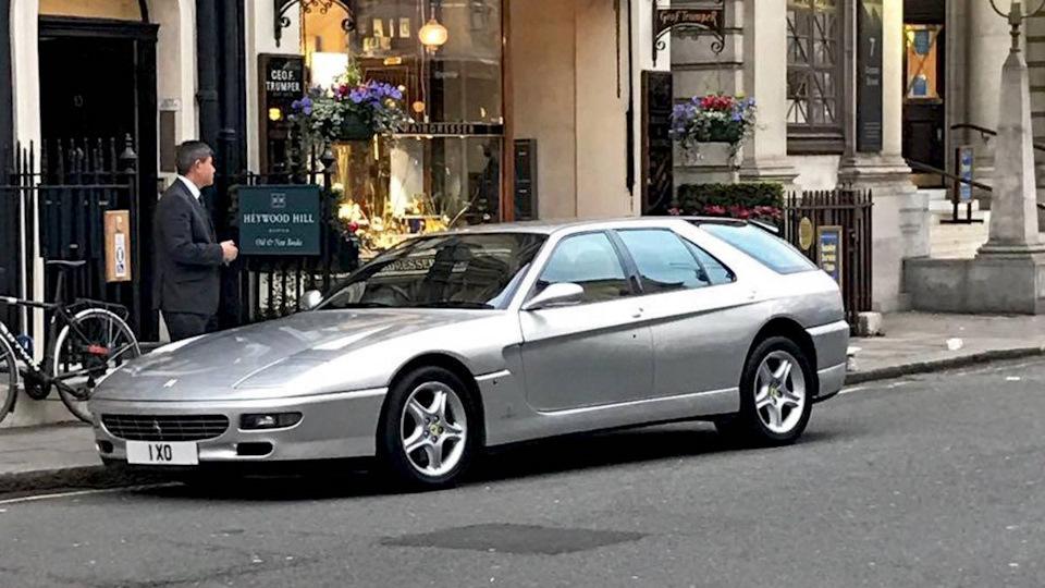 Ferrari в необычном кузове