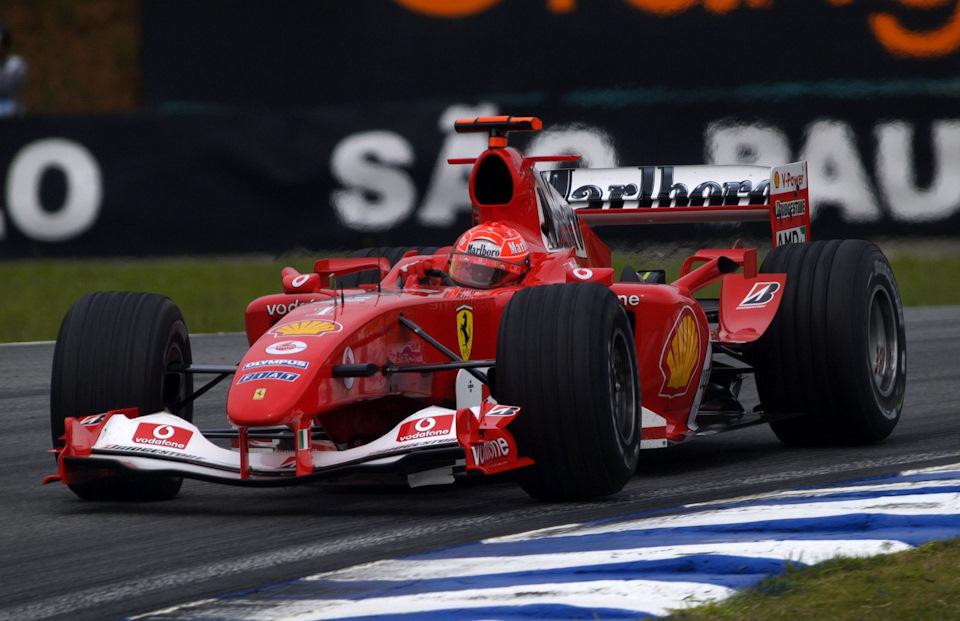 Ferrari F2004 полный обзор