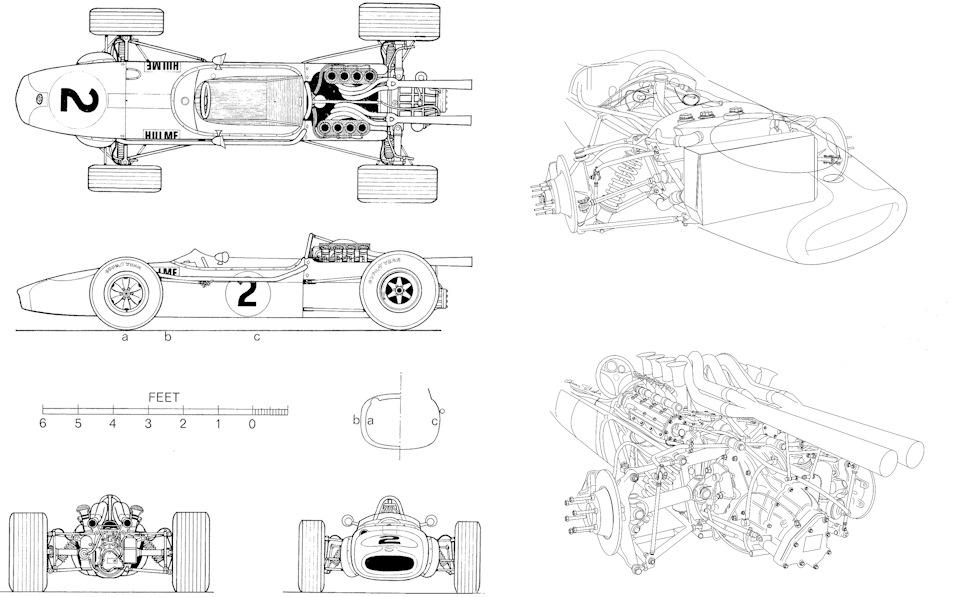 шасси Brabham BT24
