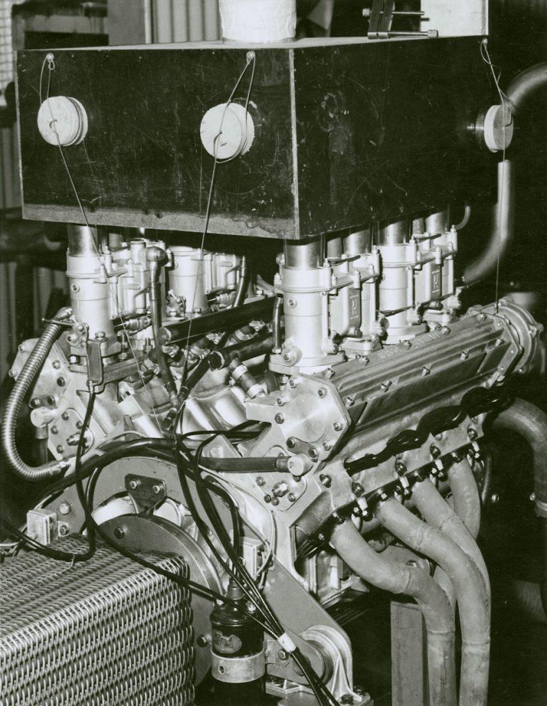Repco 620 на дино-стенде