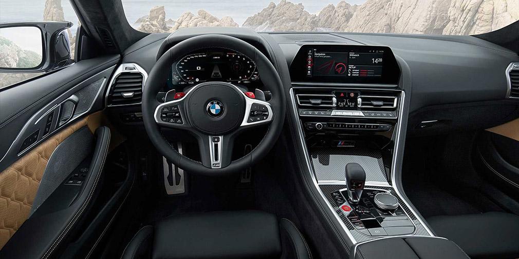 обзор BMW M8