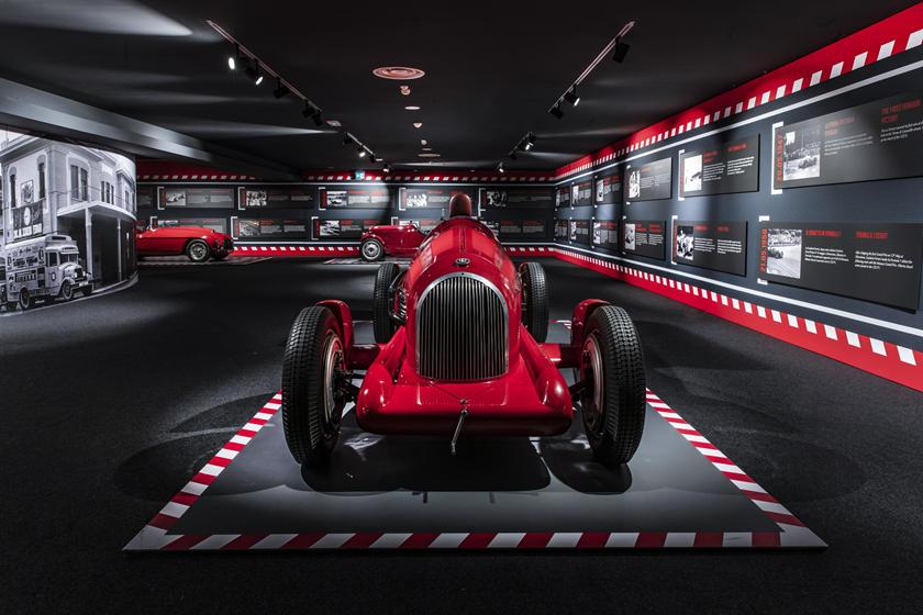музей Scuderia Ferrari