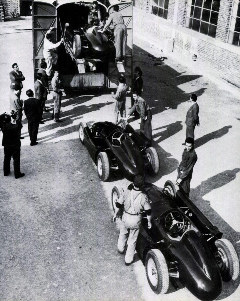Гран При Испании '54.
