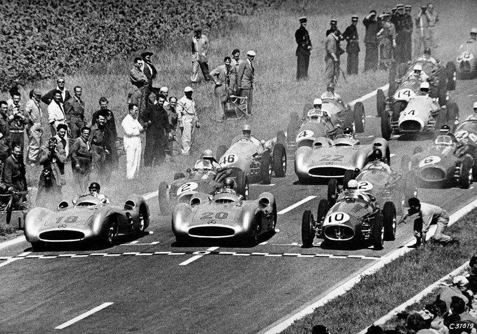 Гран При Франции '54.
