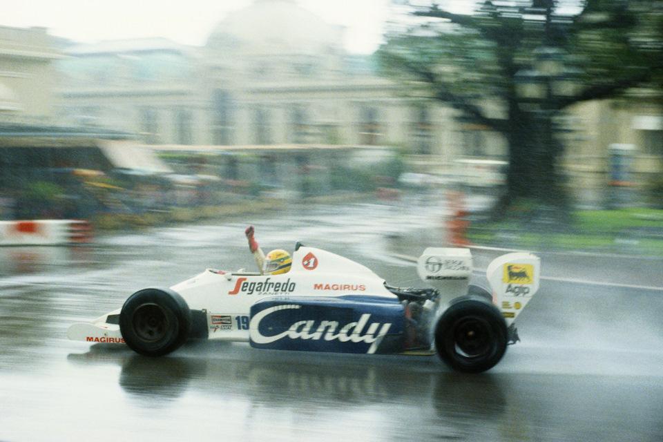 Первая победа Айртона Сенны в Формуле-1