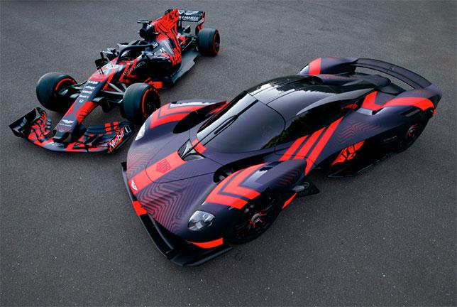 гиперкар Aston Martin Valkyrie