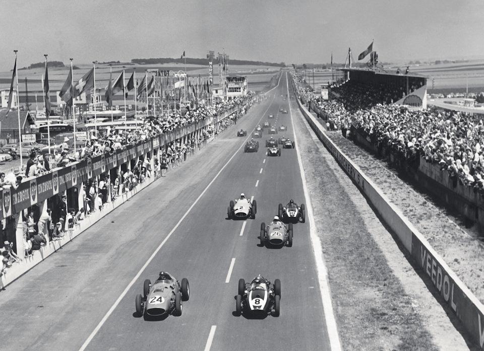 история гонок