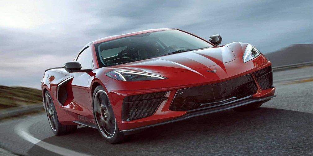новый Corvette с среднемоторной компоновкой