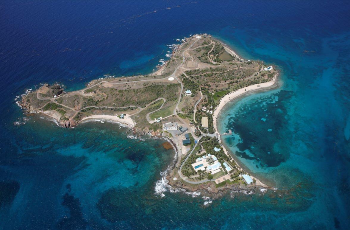 остров миллиардера Эпштейна