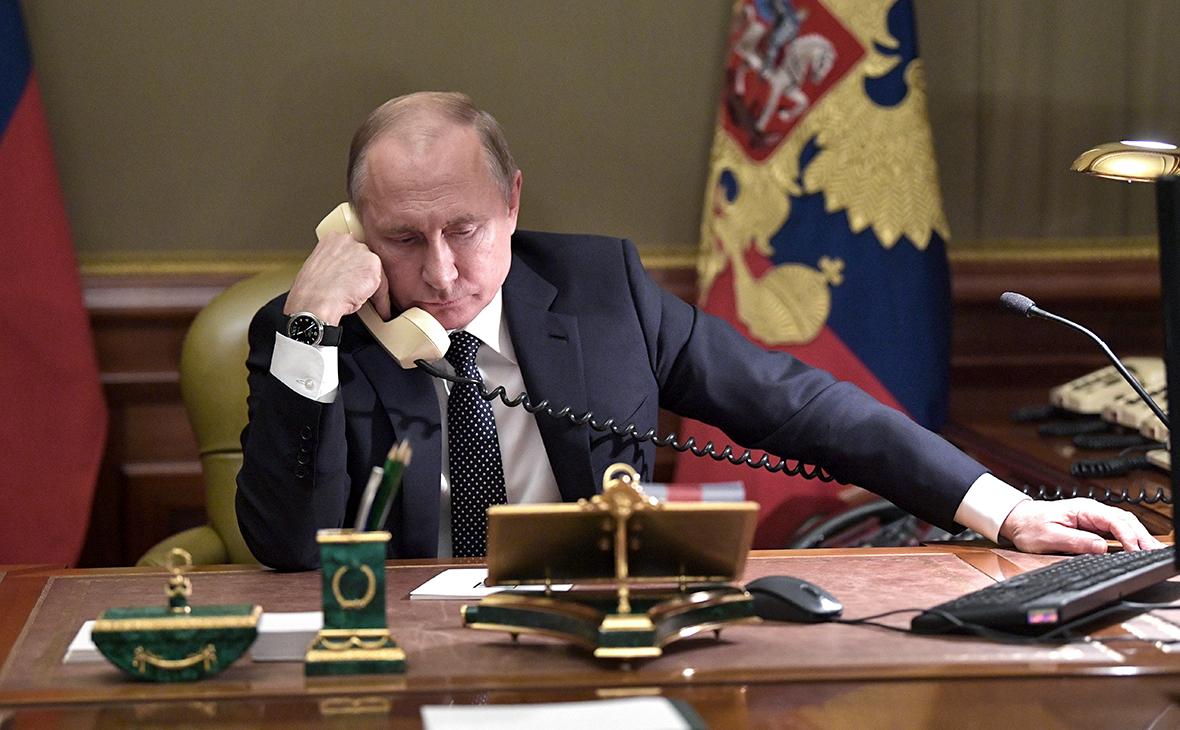 разговор Путина
