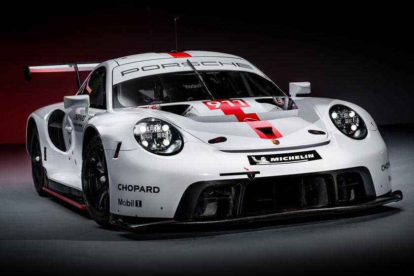 новый Porsche 911 RSR
