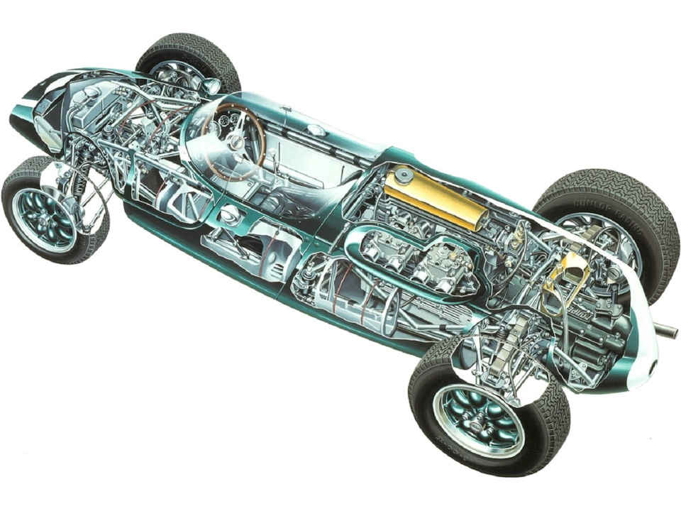 Cooper T51 Climax.