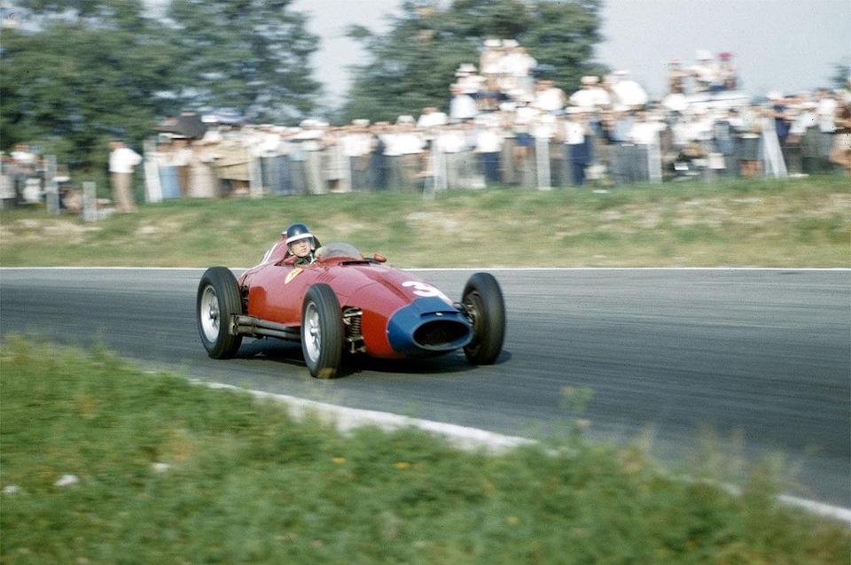 Ferrari 801 Lancia в гонках