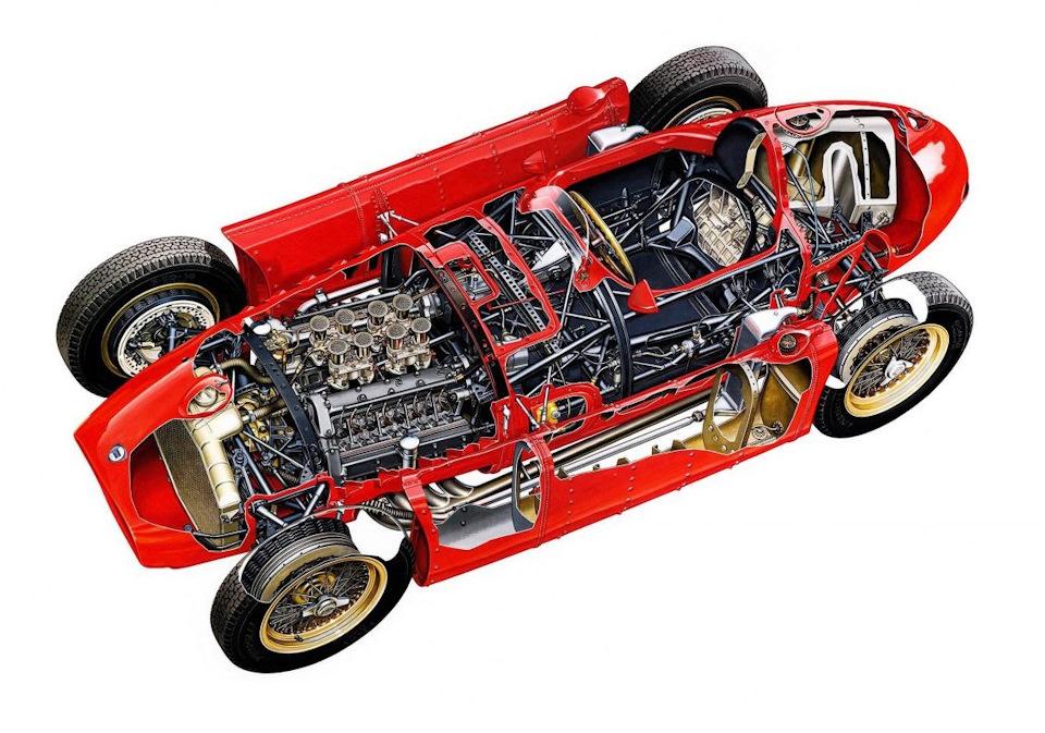 Lancia D50.