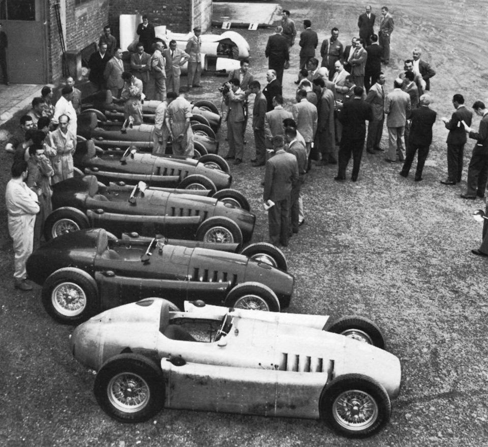 Lancia D50 фото