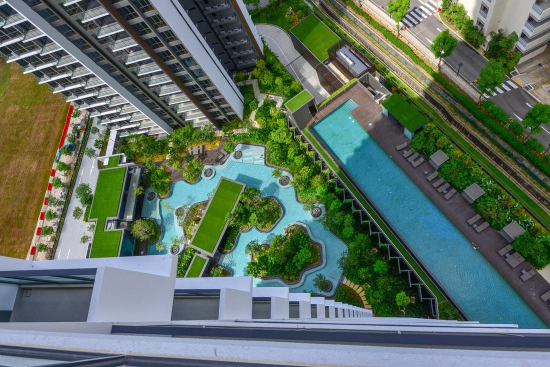 высокие здания в сингапуре