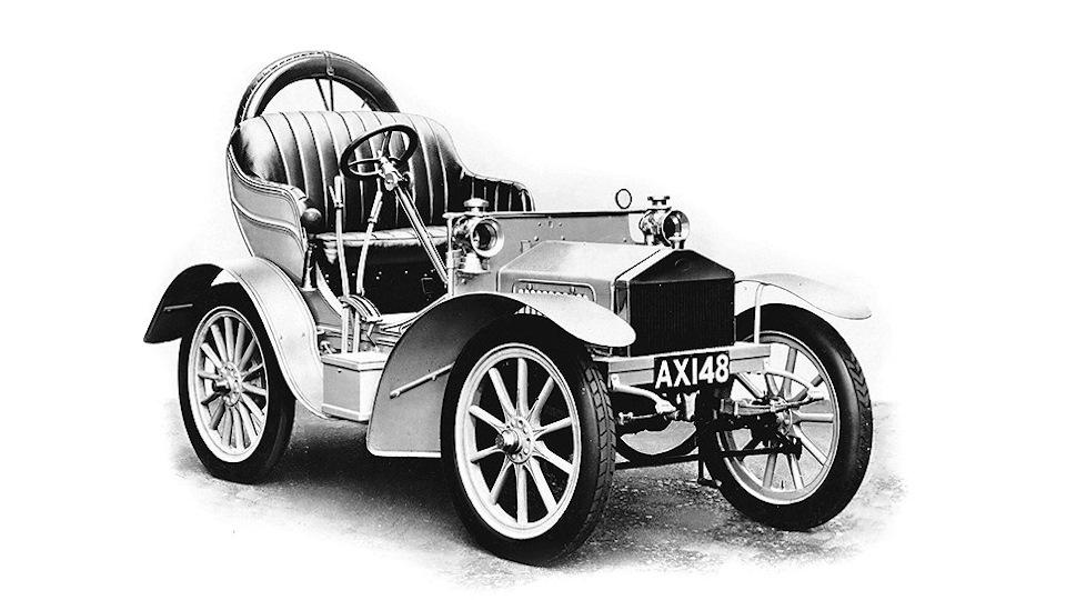 Двухцилиндровый Rolls-Royce
