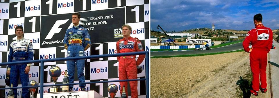 Михаэль Шумахер стал самым успешным гонщиком середины 90-х