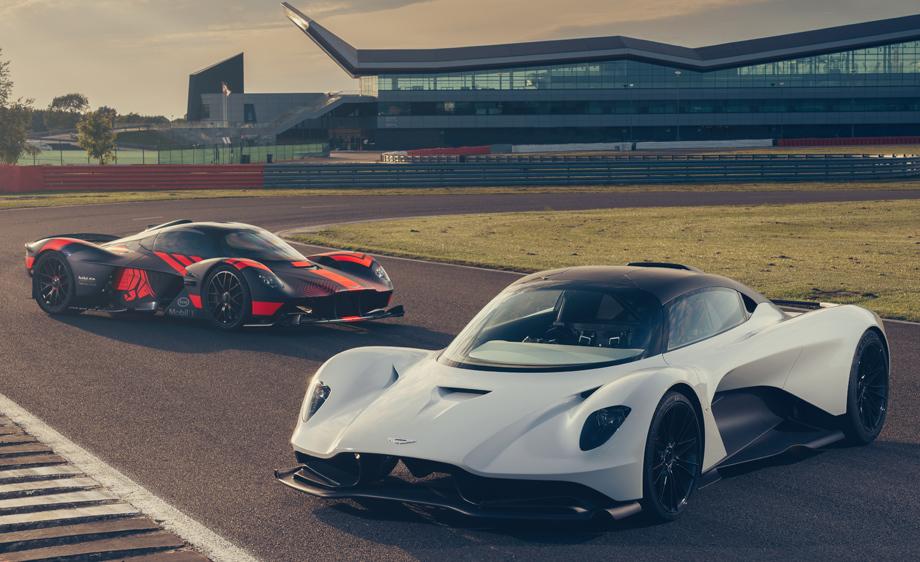 фото Aston Martin Valkyrie и Valhalla
