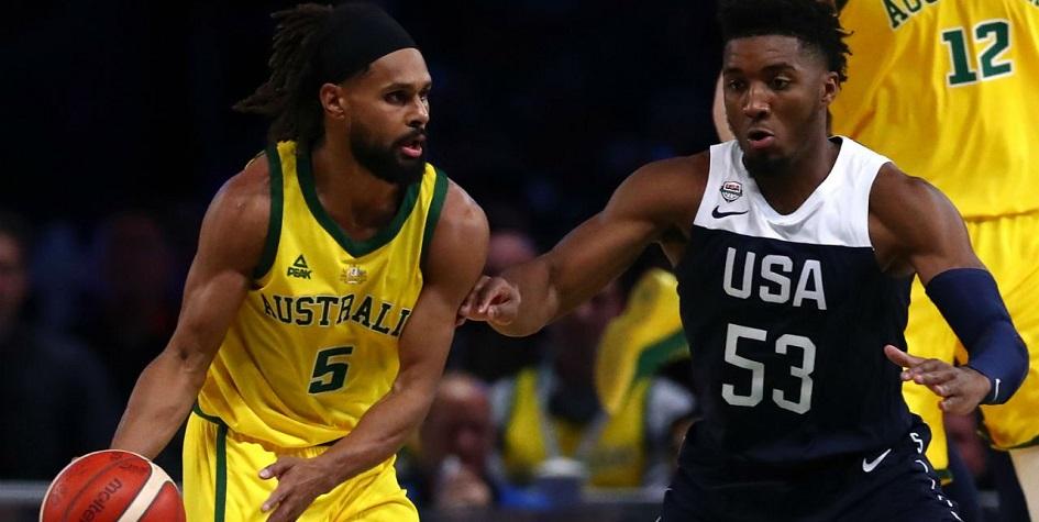 Сборная США по баскетболу проиграла австралийцам