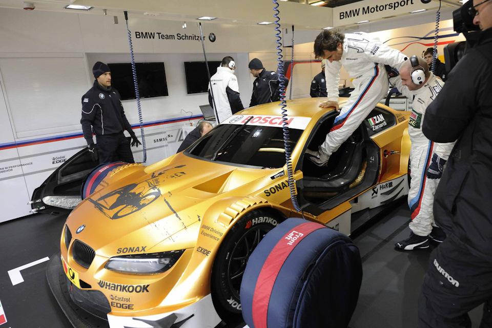 DTM в Мизано за рулем BMW
