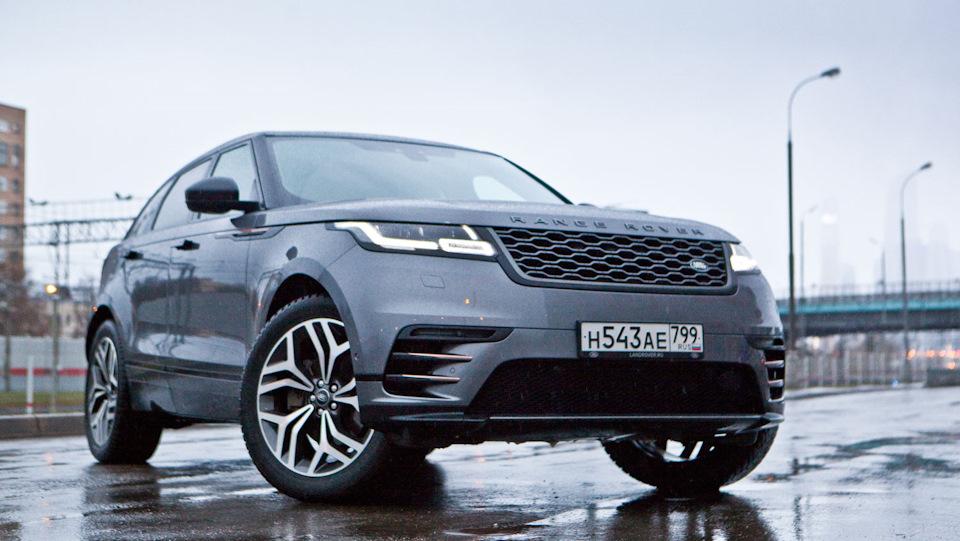Range Rover Velar тест