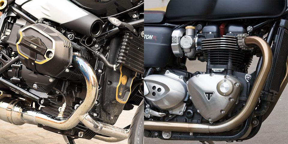 двигателя мотоциклов бмв и триумф