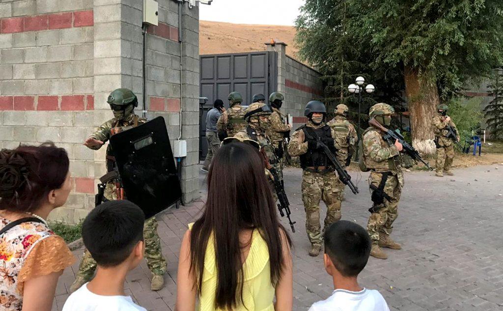 задержание атамбаева