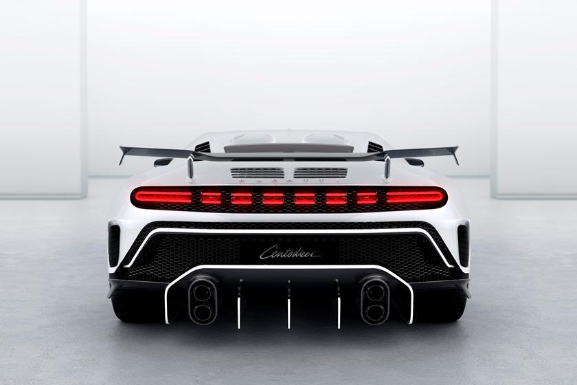 Bugatti Centodieci дизайн