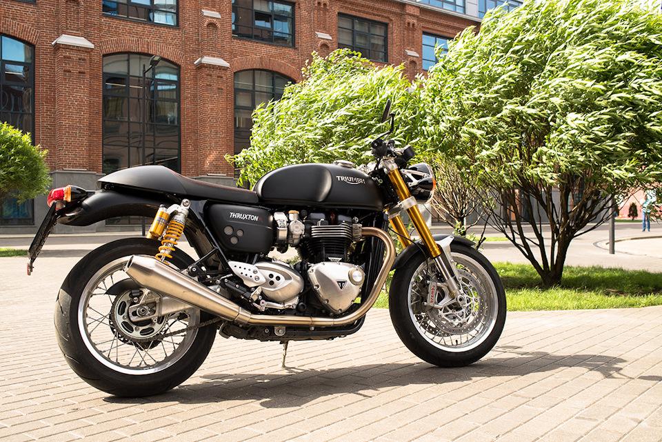 классический мотоцикл триумф