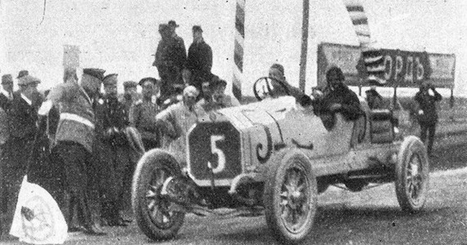 На старте Гран-при 1914