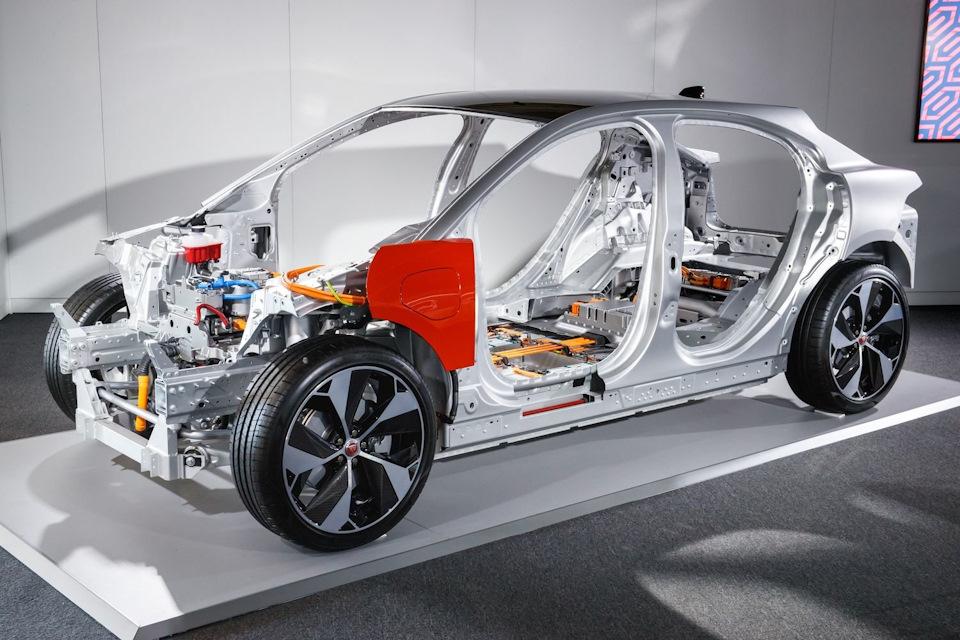 электрический Jaguar I-Pace техника