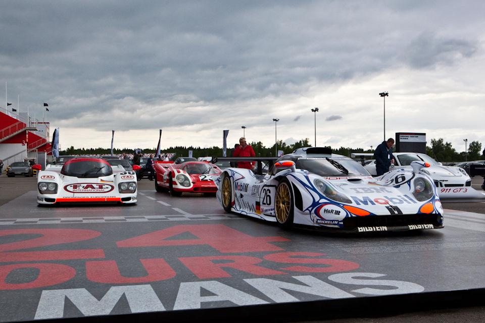 Гоночные Porsche
