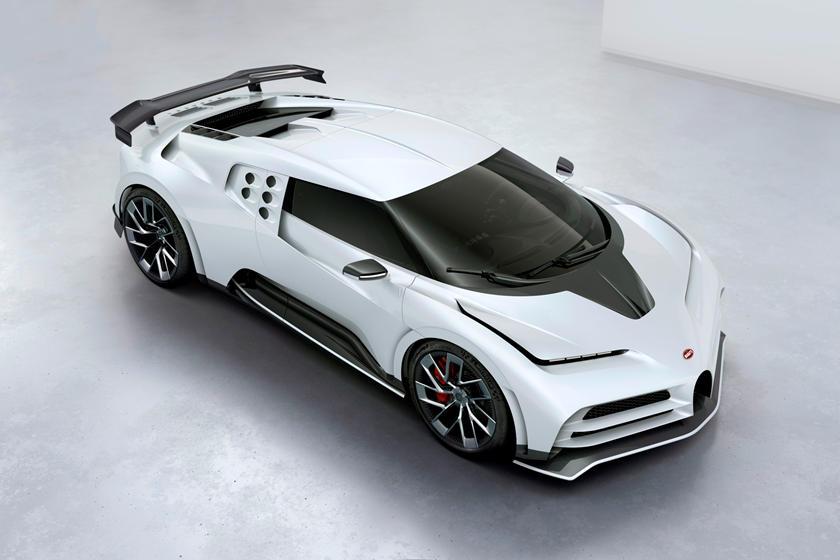 Bugatti Centodieci 1600 сил