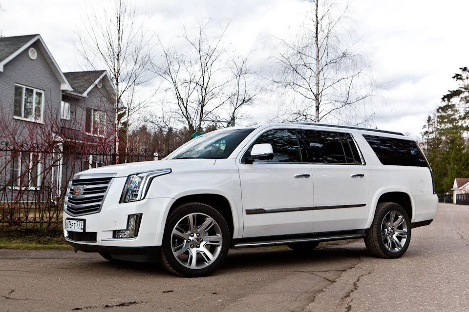 Cadillac внедорожник